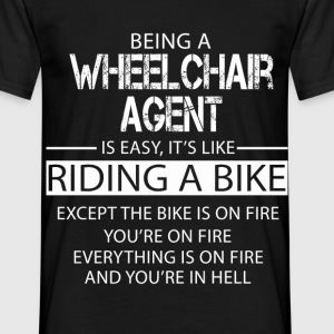 Wheelchair agent T-Shirts - Men's T-Shirt