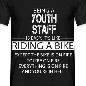 Youth Staff T-Shirts - Men's T-Shirt