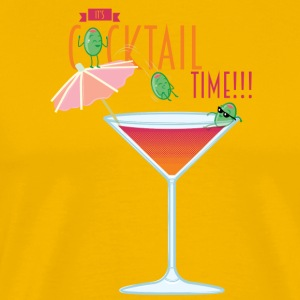 It's Cocktail Time T-Shirts - Men's Premium T-Shirt