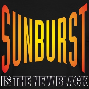 Sunburst Is The New Black - Männer Kontrast-T-Shirt