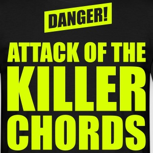 Attack Of The Killer Chords - Männer T-Shirt