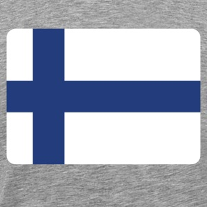 FINLAND IS AWESOME! T-shirts - Mannen Premium T-shirt