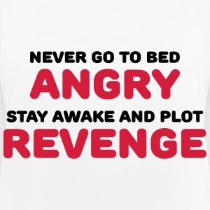 Never go to bed angry Ropa deportiva - Camiseta de tirantes transpirable mujer