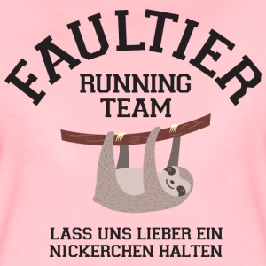 Faultier Running Team... T-Shirts - Frauen Premium T-Shirt