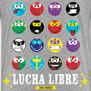 SmileyWorld Lucha Libre Wall of Fame - Premium T-skjorte for barn