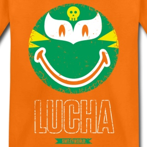 SmileyWorld Green Luchador - Premium-T-shirt barn