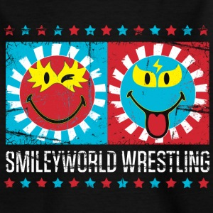 SmileyWorld Lucha Libre Wrestling Show - Teenager T-shirt
