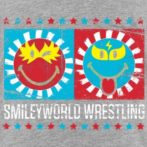 SmileyWorld Lucha Libre Wrestling Show - Teenage Premium T-Shirt