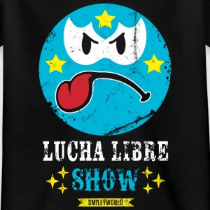SmileyWorld Blue Luchador - Teenager T-shirt