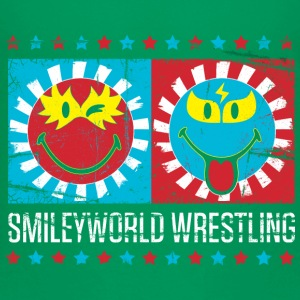 SmileyWorld Lucha Libre Wrestling Show - Premium T-skjorte for barn