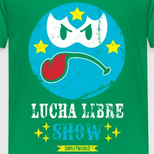 SmileyWorld Blue Luchador - Kids' Premium T-Shirt