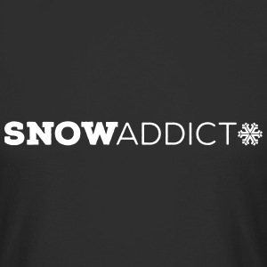 Snow Addict T-Shirt - Männer Urban Longshirt