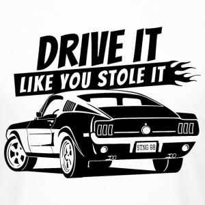 Drive it - Fastback T-Shirt - Männer Urban Longshirt