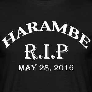 harambe rip may 28 2016 T-Shirts - Men's T-Shirt