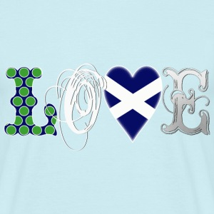 Love Scotland white T-Shirts - Männer T-Shirt