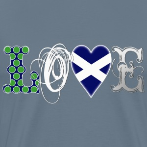 Love Scotland white T-Shirts - Men's Premium T-Shirt