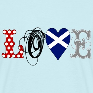 Love Scotland Black - Männer T-Shirt