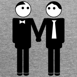 gay couple / gay couple hand in hand 2c Kasketter & Huer - Jersey-Beanie