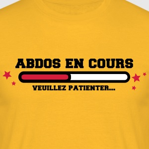 abdos en cours Tee shirts - T-shirt Homme
