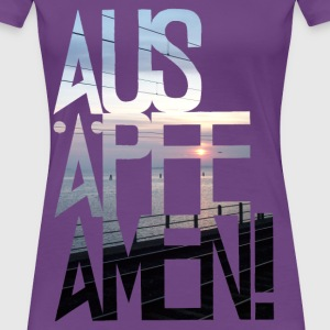 ausäpfeamen-sunset T-Shirts - Frauen Premium T-Shirt
