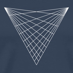Sacred geometry / minimal hipster triangle symbol T-Shirts - Men's Premium T-Shirt