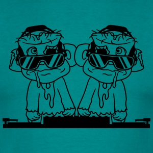dance celebrating 2 dj team buddies duo party misc T-Shirts - Men's T-Shirt