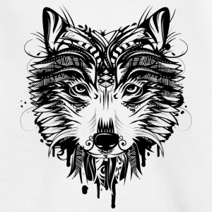 Wolf head Shirts - Teenage T-shirt