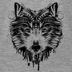 Wolf head Tops - Women's Premium Tank Top