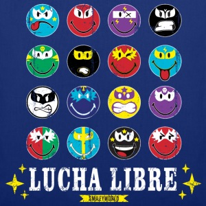 SmileyWorld Lucha Libre Wall of Fame - Borsa di stoffa