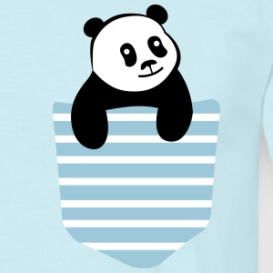 Panda Stripe Pocket T-shirts - Herre-T-shirt