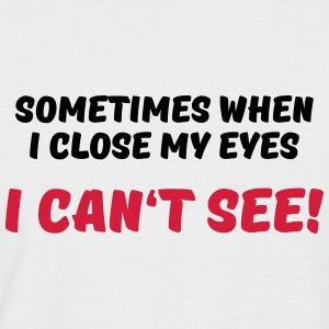 Sometimes when I close my eyes... Tee shirts - T-shirt baseball manches courtes Homme