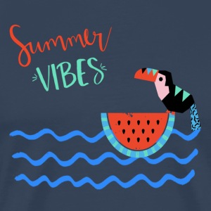 Summer VIBES-Abstract Summer Illustration - Männer Premium T-Shirt