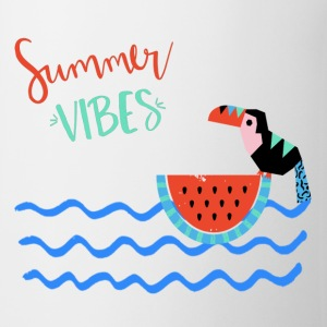 Summer VIBES-Abstract Summer Illustration - Tasse