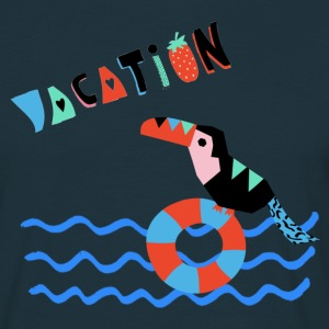 URLAUB-Vacation- Illustration - Männer T-Shirt