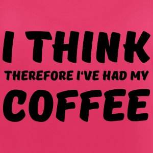 I think therefore I've had my coffee Vêtements Sport - Débardeur respirant Femme
