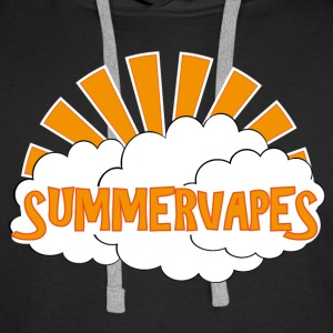 Vape Design Summer Vapes Sweat-shirts - Sweat-shirt à capuche Premium pour hommes