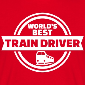 Train driver T-Shirts - Männer T-Shirt