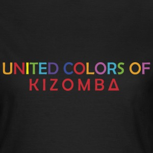 United colors of kizomba - T-shirt Femme