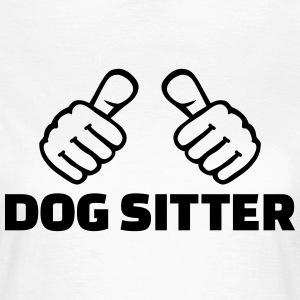 Dog sitter T-Shirts - Frauen T-Shirt