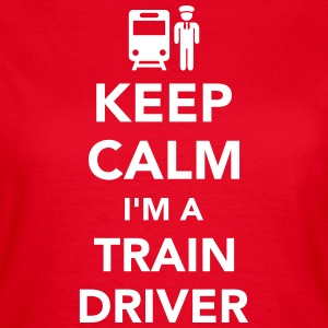 Train driver T-Shirts - Frauen T-Shirt