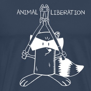 Animal Liberation - Männer Premium T-Shirt