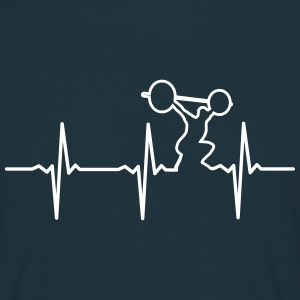 Heartbeat Gym T-Shirts - Men's T-Shirt