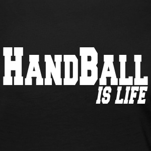 handball is life Long Sleeve Shirts - Women's Premium Longsleeve Shirt
