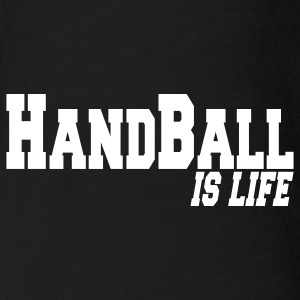 handball is life Babybody - Økologisk kortermet baby-body