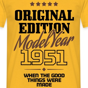 Original Edition - Model Year 1951 T-shirts - Herre-T-shirt