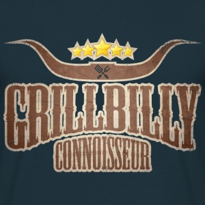 Grillbilly Connoisseur - Männer T-Shirt