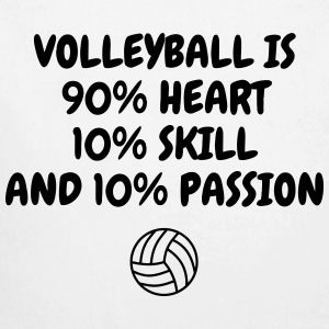 Volleyball - Volley Ball - Volley-Ball - Sport Baby Bodys - Baby Bio-Langarm-Body