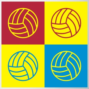 Volleyball - Volley Ball - Volley-Ball - Sport Krus & tilbehør - Kop/krus