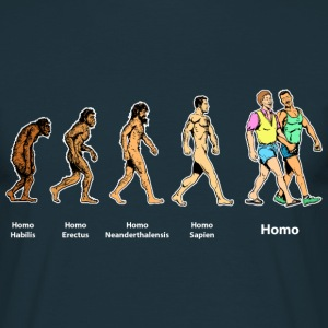 Homo evolution T-skjorter - T-skjorte for menn