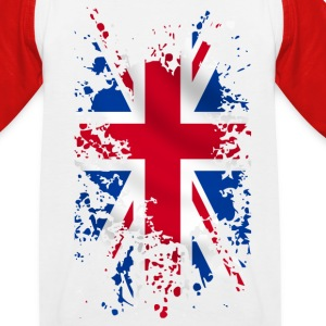 Union Jack Tee shirts - T-shirt baseball Enfant